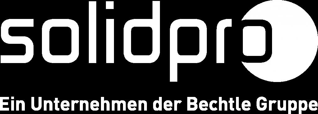 Solidpro Logo weiß